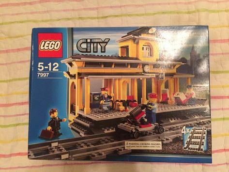Lego City Train Station Set 7997 Lego City Train Lego City Lego Station