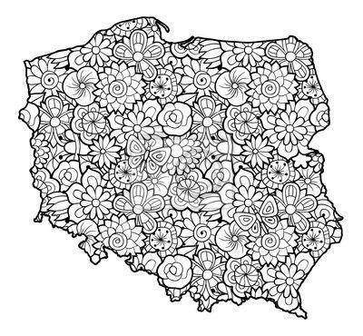 Znalezione Obrazy Dla Zapytania Flaga Polski Kolorowanka With