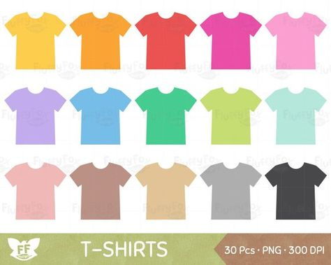 T-Shirt Clipart, Shirts Clip Art, Clothes Fashion Sweatshirt Tee