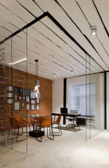 Home Office Loft Space 62 Ideas In 2020 Modern Office Lighting Loft Spaces Industrial Office Design