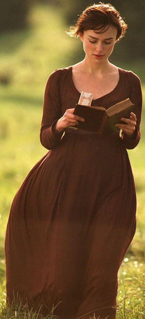 Elizabeth (Keira Knightley) - Pride & Prejudice   female character inspiration   period lady   writing   filmmaking   screenwriting   story