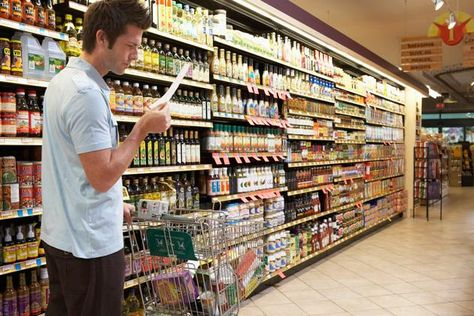 Cut Your Grocery Bill in Half: Eating healthy isn't always cheap, so follow these tips and tricks to keep your wallet fat. Pin now; read later.