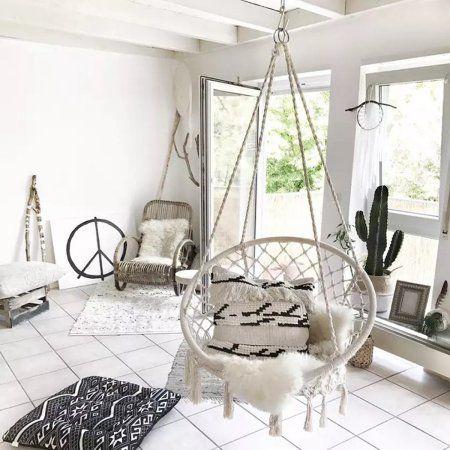 Patio Garden In 2019 Hanging Hammock Chair Swinging