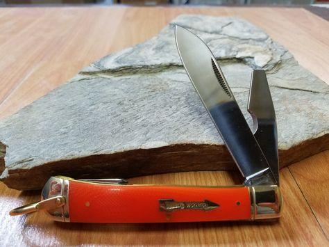Marbles Large Trapper Folding Orange Pocket Knife Workman Series 264 With Images Pocket Knife Folding Pocket Knife Knife