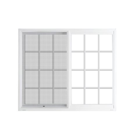 Jeld Wen V2500 Series Left Operable Vinyl Double Pane