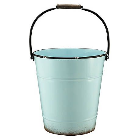Red Shed Blue Metal Planter At Tractor Supply Co Metal Planters Tractor Supplies Tractor Supply Co