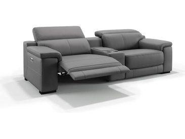 Leder Kinosofa Heimkino Couch Sora 2 Sitzer Ledersofa Sofa Heimkino Couch