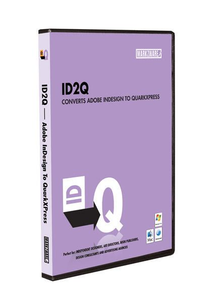 Indesign to quark express conversion id2q from markzware for.