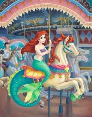 Disney Princess Photo: A Royal Carousel: Ariel