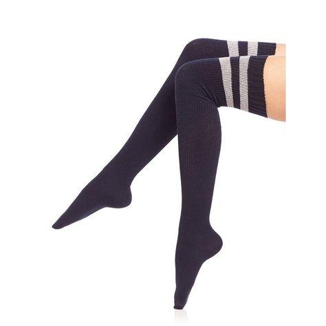Over The Knee Thigh High Fluorescent Orange Socks Sox Hen Uv Party Ladies Neon