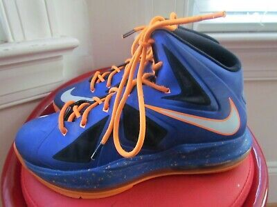 Nike Lebron 10 Boy S Basketball Shoes Size 6 5y In 2020 Boys Basketball Shoes Sport Shoes Hoka Running Shoes