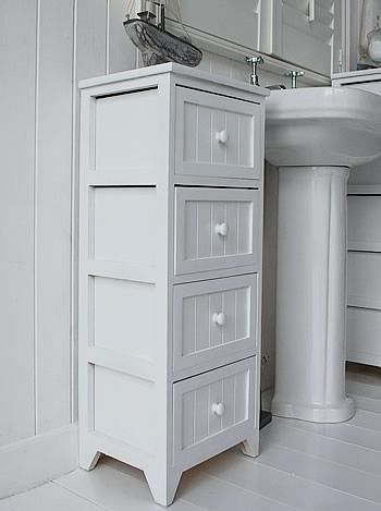 Free Standing Bathroom Cabinets With Drawers For Your Home Goodworksfurniture In 2020 White Bathroom Storage Freestanding Bathroom Cabinet Narrow Bathroom Storage