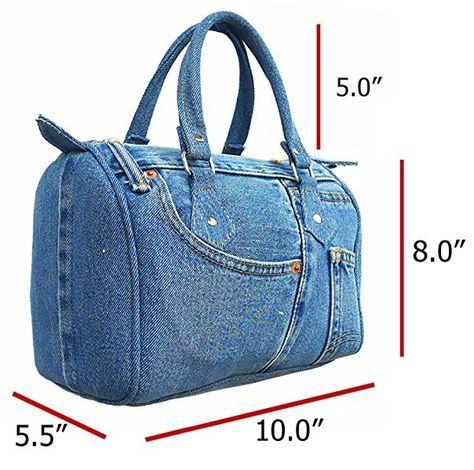 ac338bff60 BDJ Classic Blue Denim Jean Doctor Style Women Handbag (LL-04 ...