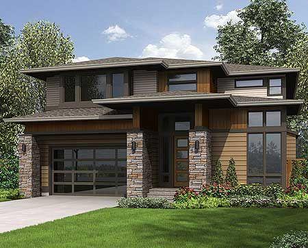 Prairie style home plans.