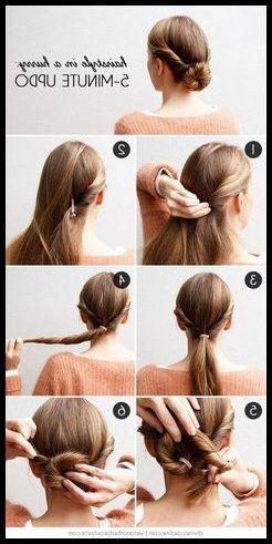 Frisuren Mit Haarband Anleitung Eindrehfrisur Zopf Frisuren In Damenfrisuren2018 Frisuren Haarband Frisur Anleitung Haarband Frisur Langhaarfrisuren