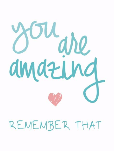 Shop You Are Amazing Remember That Love Quote Postcard created by JunkyDotCom.