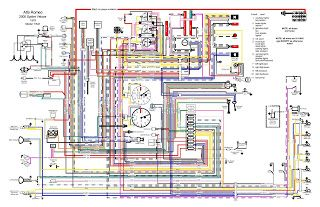 1978 Alfa Romeo 2000 Spider Veloce Wiring Diagram Electrical Wiring Diagram Electrical Diagram Trailer Wiring Diagram