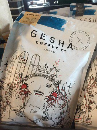 Image Result For Gesha Coffee Co Fremantle Wa Paper Shopping Bag Fremantle Coffee
