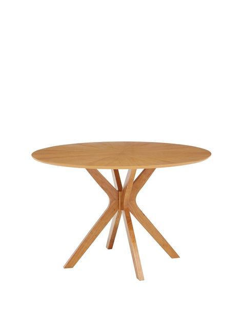 New Starburst 120 Cm Round Dining Table Round Dining Table