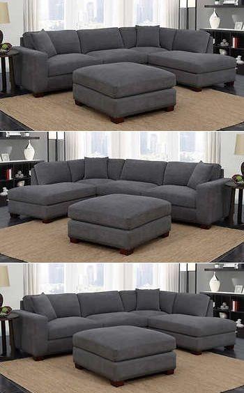 Gray Sectional Sofa Costco Sofa Sofadesign Sofaideas Sectional