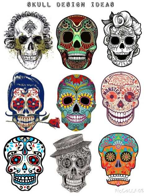 art mexicano New tattoo designs skull day of the dead ideas