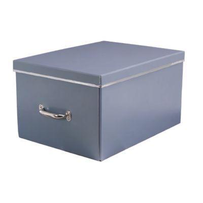 Boîte De Rangement Manhattan T4 Coloris Gris Boite De