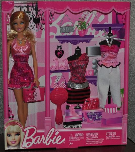 Barbie H2o Design Studio Color Fashion Gift Set Doll Accessories W1598 2010 New