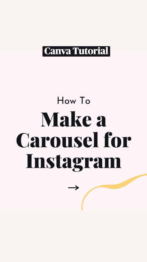 Tutorial: Make a Carousel for Instagram in Canva