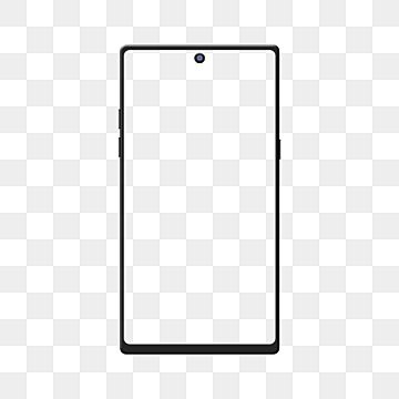 Smartphone Mockup Black Android Mobile Phone Frame With Transparent Background Smartphone Mockup Device Isolated Png And Vector With Transparent Background F In 2021 Android Mockup Phone Mockup Mobile Mockup