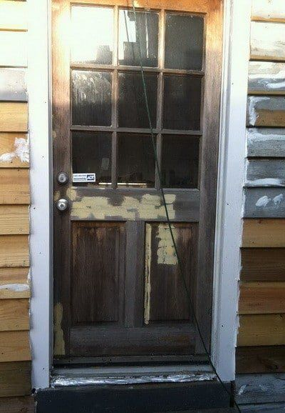How To Fix A Shrinking Or Swelling Exterior Door Exterior Doors Doors Exterior