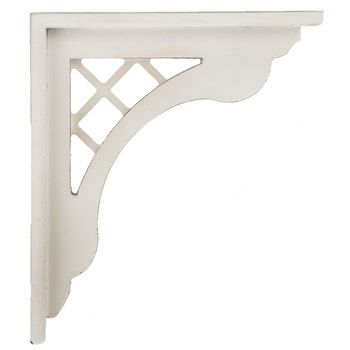 Antique White Lattice Wood Corbel Hobby Lobby 1489186 In 2020 Wood Corbels Corbels Mirror Wall Decor