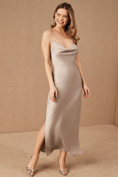 Malynn Dress From Bhldn In 2020 Dresses Neutral Bridesmaid Dresses Mismatched Beige Dresses