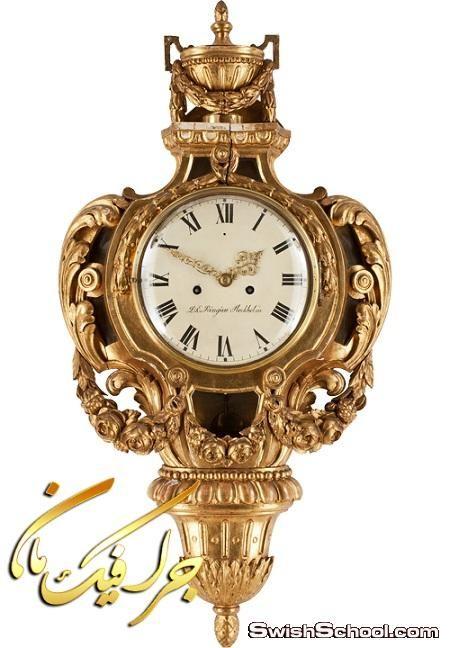 صور مفرغه ساعات حائط باشكال فخمه عاليه الجوده للتصميم Png Mantel Clock Decor Clock