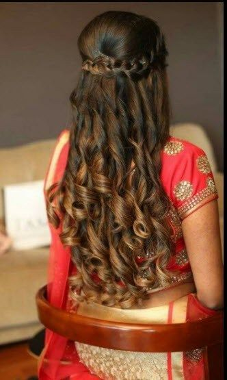 30 Indian Bridal Wedding Hairstyles For Short To Long Hair 2018 2019 Medium Hair Styles Medium Length Hair Styles Womens Hairstyles