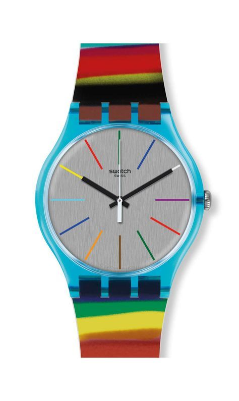 lo último f2af2 b625f Swatch Watch* COLORBRUSH | Swatch España | Swatch in 2019 ...