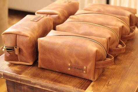 Dopp kit leather dopp kit shave kit monogrammed dopp kit