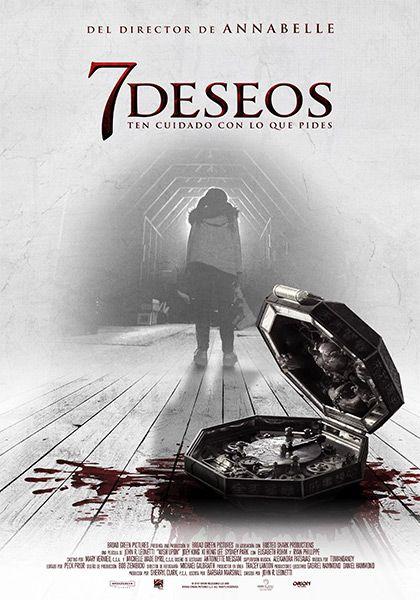 7 Deseos Peliculas Free Ultra Hd En 2020 Peliculas De Terror Poster De Peliculas Peliculas De Disney