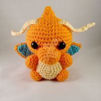 CrochetAnimee - Dragonite with mail bag crochet toy.... | Facebook | 200x200