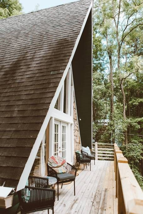 Trendy Modern Tree House A Frame Cabin Cabins For Rent In Gatlinburg Tennessee United States A Frame Cabin Modern Tree House A Frame House