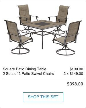 Shop The Skytop Patio Collection On Lowes Com Patio Dining Table