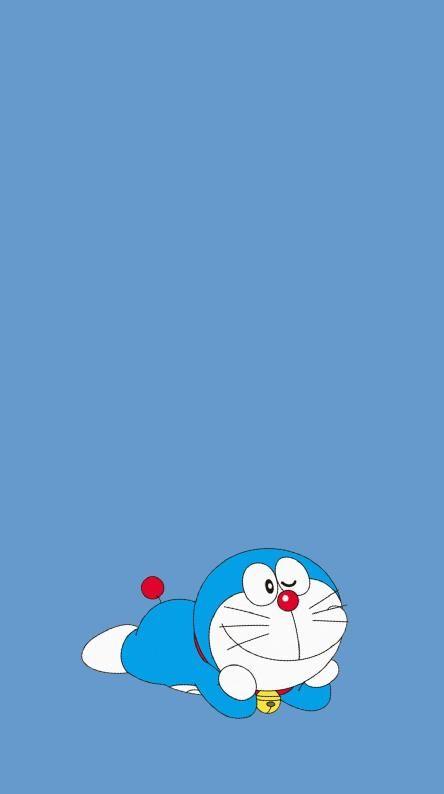 Doraemon Wallpaper Background Hd Ilustrasi Karakter Kartu Lucu Kartun
