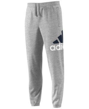 adidas Men's Essential Jersey Pants - Gray 2XL   Mens activewear ...