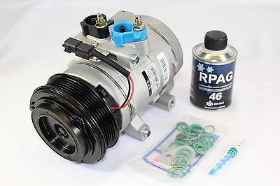 nice AC COMPRESSOR WITH ORIFICE TUBEFITS 2007-2008 FORD F150 4.2 V6 - For Sale