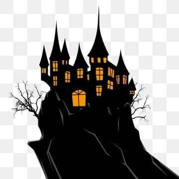 Castle Vector Books Castle Vector Fairy Tale Story Png And Vector With Transparent Background For Free Download Halloween Lucu Fantasi Dongeng Kastil