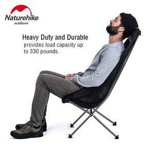 Naturehike Lightweight Heavy Duty Foldable Beach Chair Fold Up Fishing Picnic Chair Portable Outdoor Folding Camping Chair Seat Picnic Chairs Beach Chairs Camping Chair