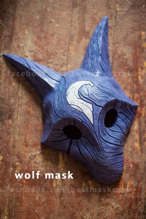 inspired Kindred Wolf Mask League of Legends Lol cosplay   Etsy