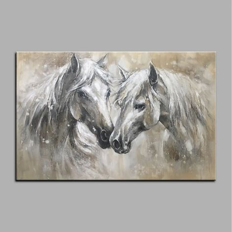 Oil Painting Hand Painted Animals Animals Modern Rolled Canvas Rolled Without Frame 2021 - US $77.99
