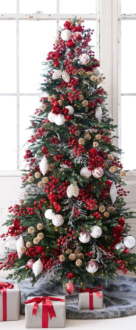 Christmas Tree Decorations Ideas With Burlap Beautiful Christmas Trees Burlap Christmas Tree Christmas Decorations