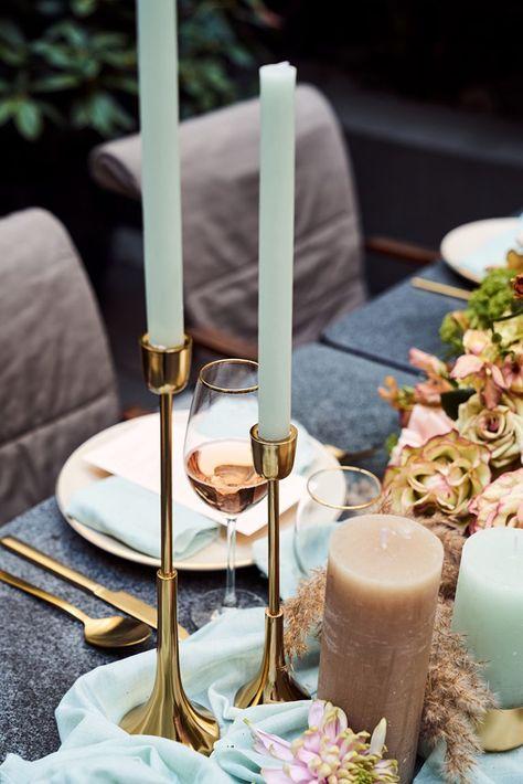 Rustic Mint Tischdekoration Hochzeit Hochzeitsdeko Und