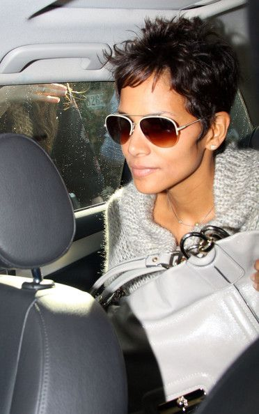If you're looking for a short spikey hairstyle for women over look no further than Halle Berry for inspiration. Halle has brought back her signature cropped 'do, and we're so glad she did as it .
